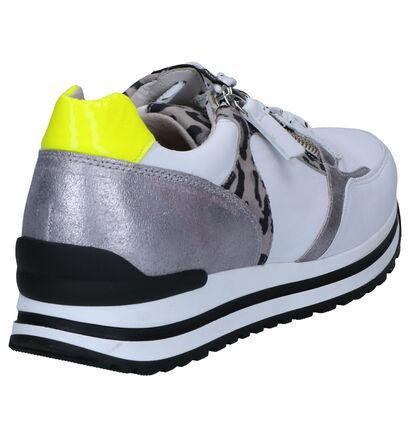 Gabor OptiFit Sneakers en Blanc en cuir (265836)