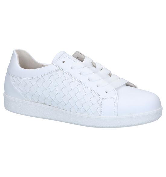 Gabor Best Fitting Witte Veterschoenen