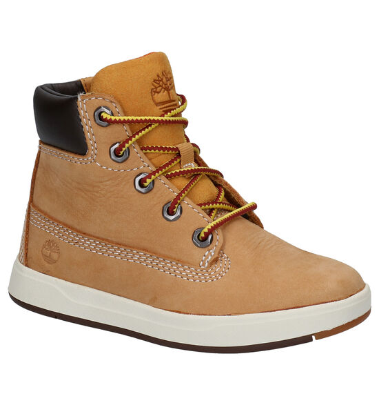 Timberland Davis Square 6 Inch Naturel Boots