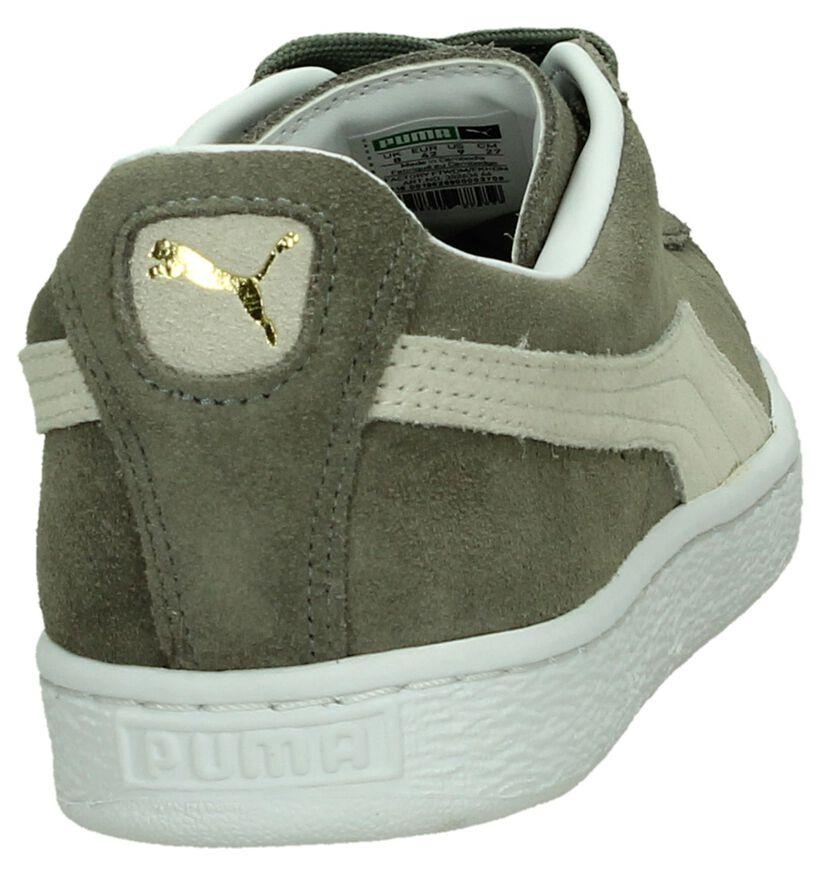 Puma Suede Classic Baskets basses en Noir en daim (199497)