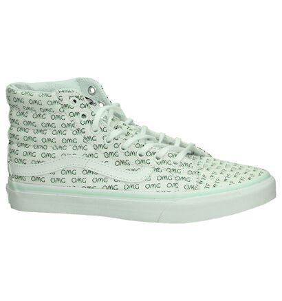 Witte Skateschoenen Vans Sk8 - Hi, Wit, pdp
