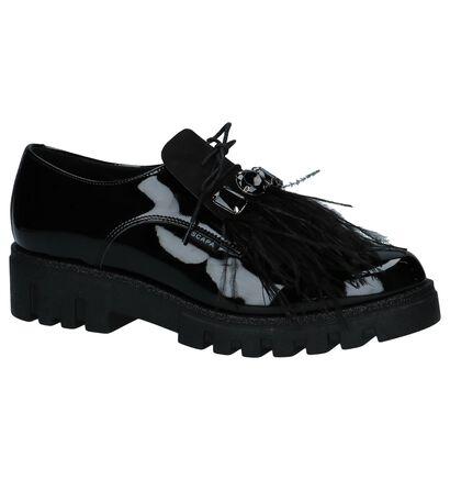Scapa Chaussures à lacets en Noir en cuir verni (227351)