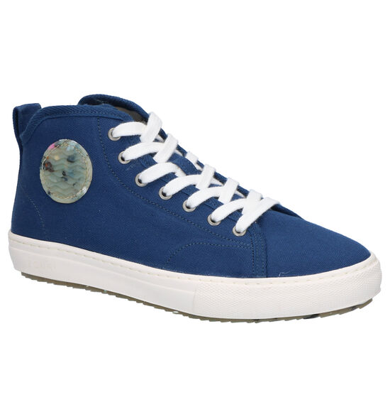 Donkerblauwe Sneakers Chlorella Zouri