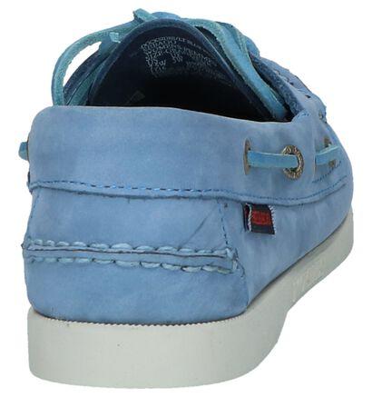 Blauw/Roze Bootschoenen Sebago Dockside, Blauw, pdp