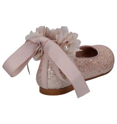 Oca Loca Witte Ballerina's in leer (266800)