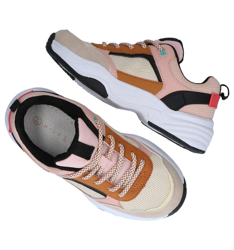 Milo & Mila Multicolor Sneakers in kunstleer (282831)