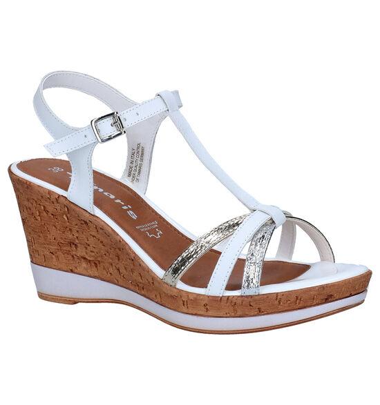Tamaris Witte Sandalen