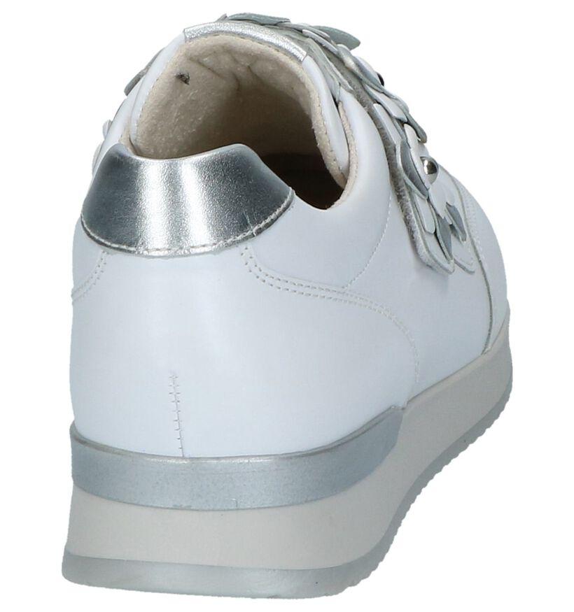 Gabor Best Fitting Chaussures slip-on en Blanc en cuir (216360)