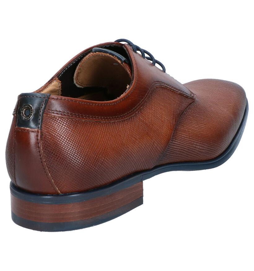 Giorgio Chaussures habillées en Cognac en cuir (274892)