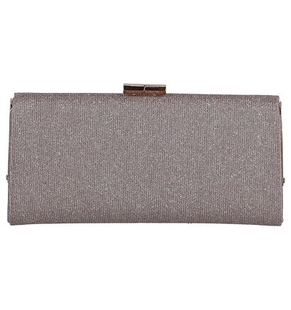 Zwarte Clutch Lotus Chicory in stof (244397)