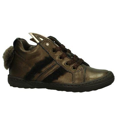 STONES and BONES Chaussures hautes en Bronze en cuir (200683)
