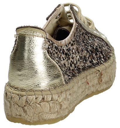 Fabiolas Chaussures à lacets en Or en cuir (196146)