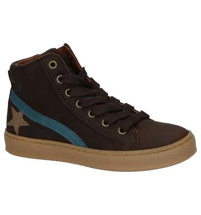 Bisgaard Chaussures hautes en Brun foncé en cuir (230725)