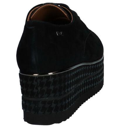 Zwarte Veterschoenen Oxford Nathan-Baume, Zwart, pdp