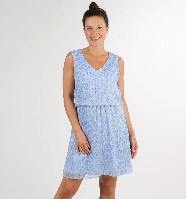 Vero Moda Miranda Blauw Kleed