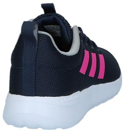 adidas Lite Racer CLN K Baskets en Bleu en textile (221815)