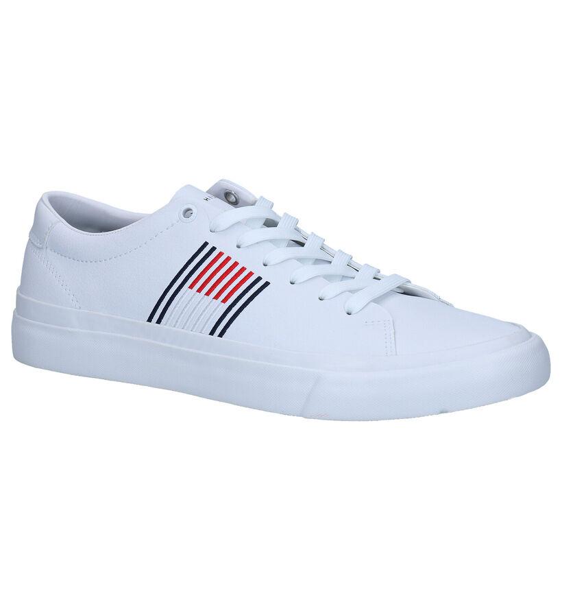 Tommy Hilfiger Corporate Chaussures à lacets en Bleu en cuir (279961)