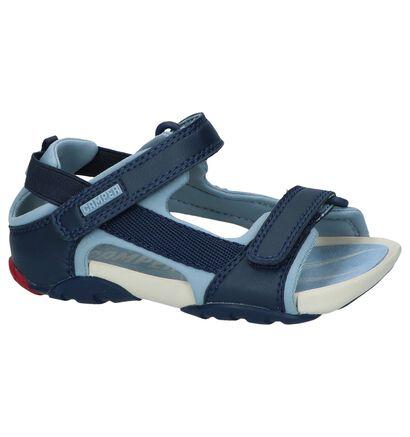 Camper Sandales en Bleu en simili cuir (243694)