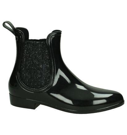 Dazzle Bottes de pluie en Noir en simili cuir (181455)