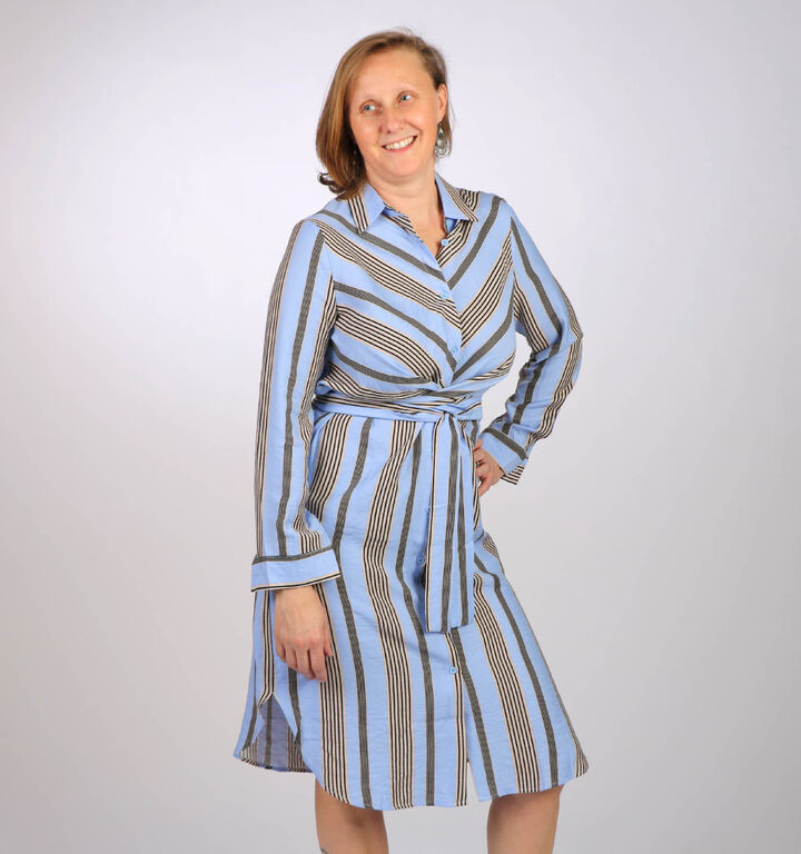 Kilky Robes mi-longues en Bleu clair