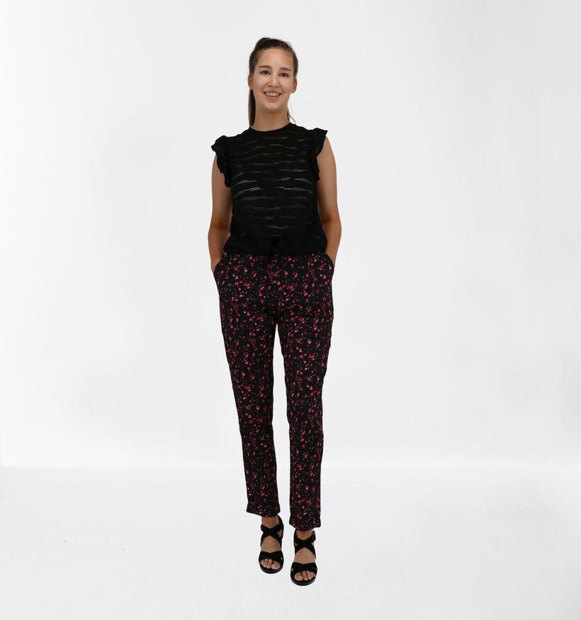 Lofty Manner Pantalon en Noir (280825)