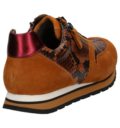 Gabor Comfort Chaussures basses en Jaune en cuir (260084)