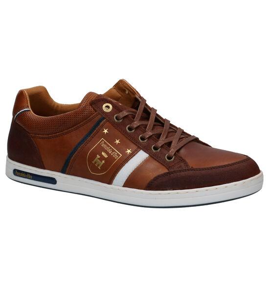 Pantofola d'Oro Mondovi Low Chaussures à Lacets en Cognac