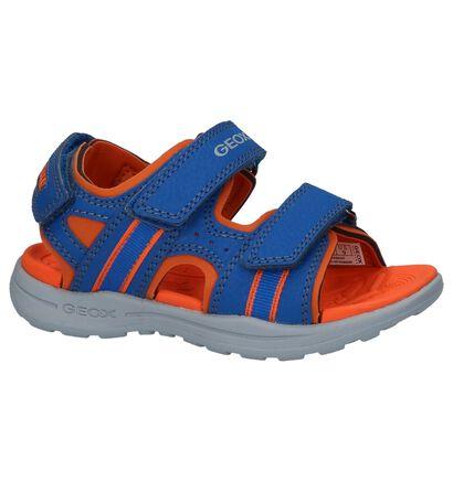 Blauwe Sportieve Sandalen Geox Gleeful in kunstleer (213170)