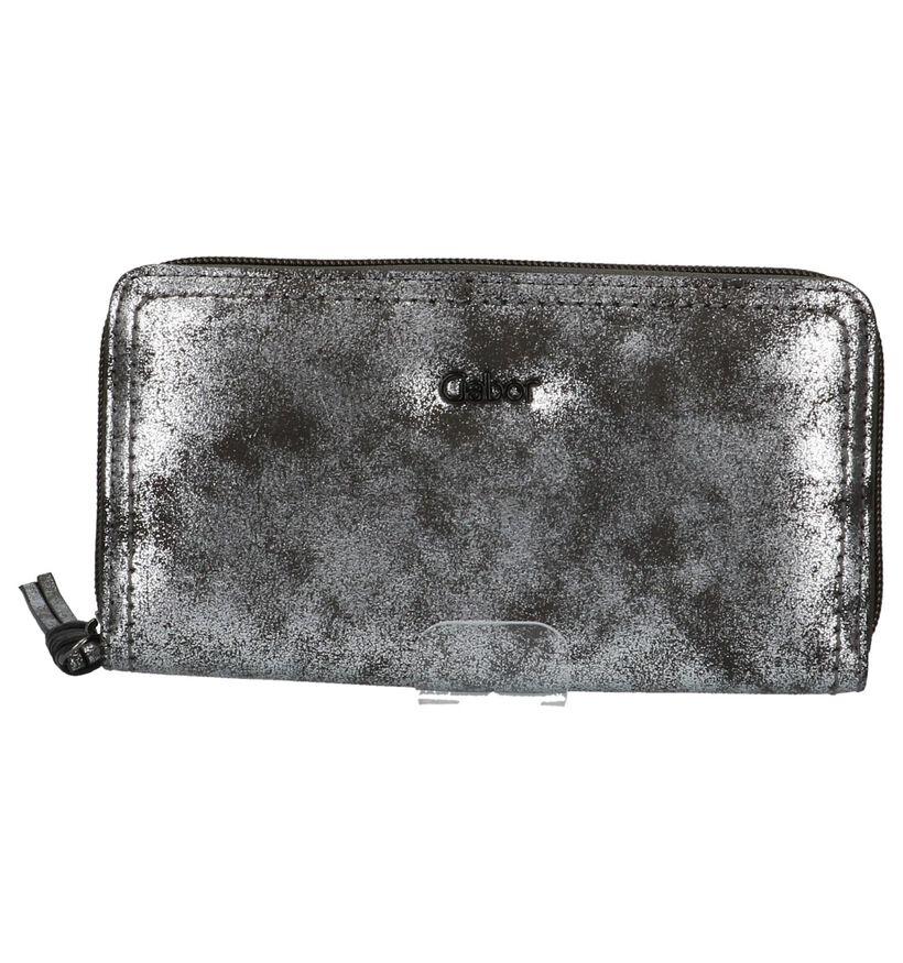 Gabor Porte-monnaies à fermeture à glissière en Argent en simili cuir (225971)