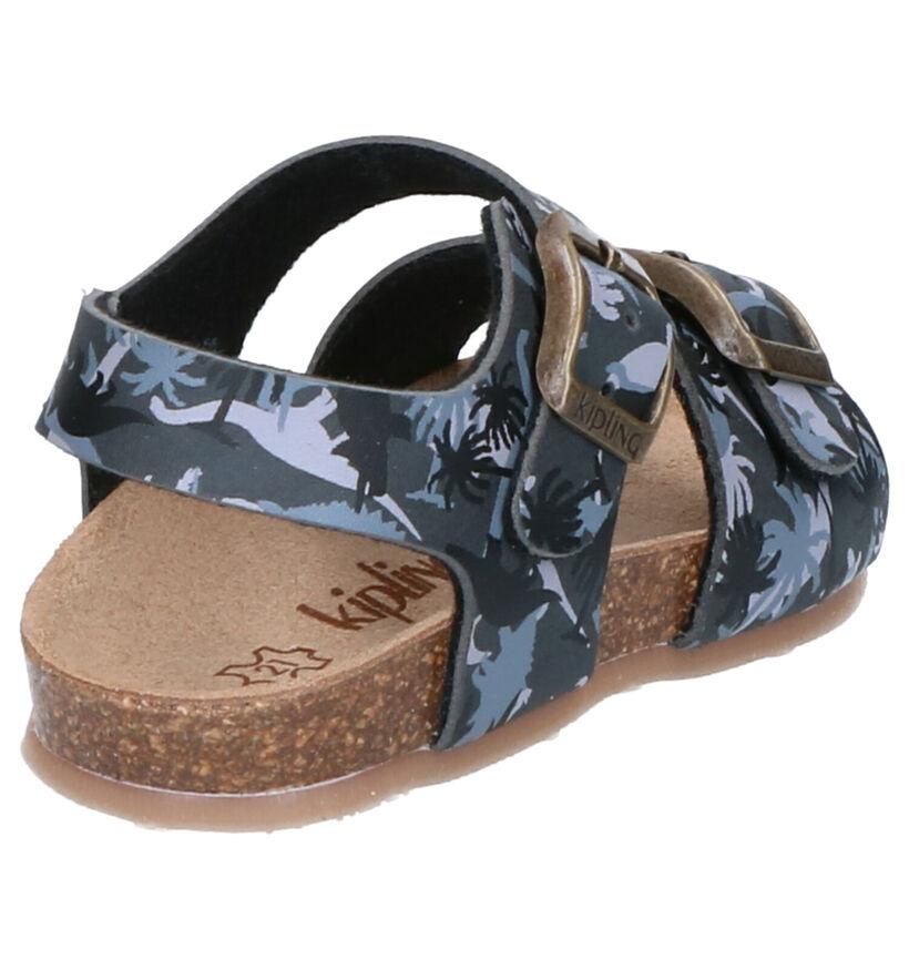 Kipling Gobi Sandales en Noir en simili cuir (273242)