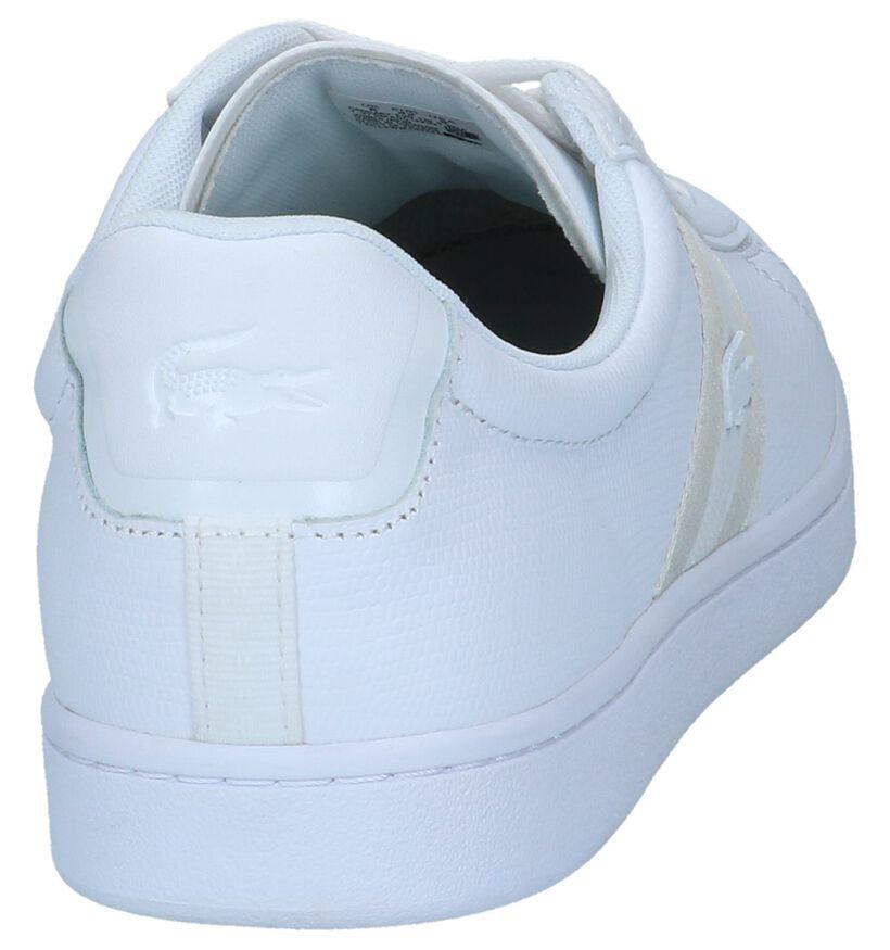 Witte Sneakers Lacoste Carnaby Evo in leer (239371)