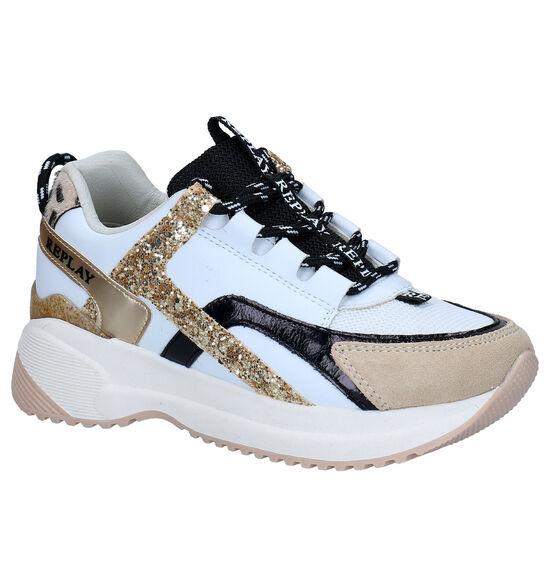 Replay Flys Witte Sneakers
