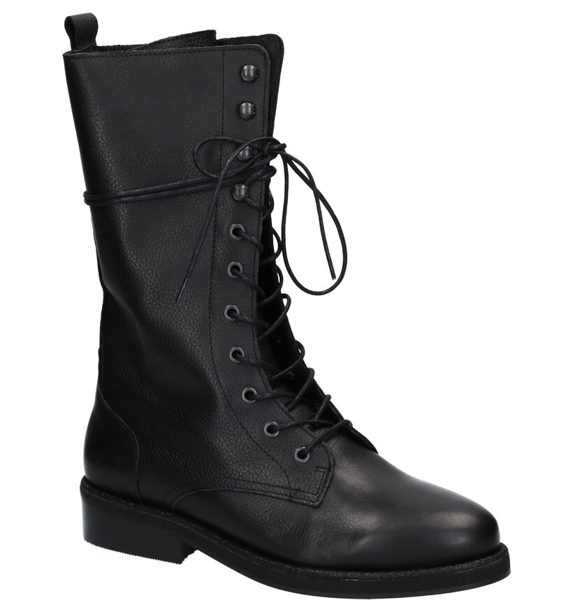 Tango Pleun Zwarte Laarzen in leer (263993)