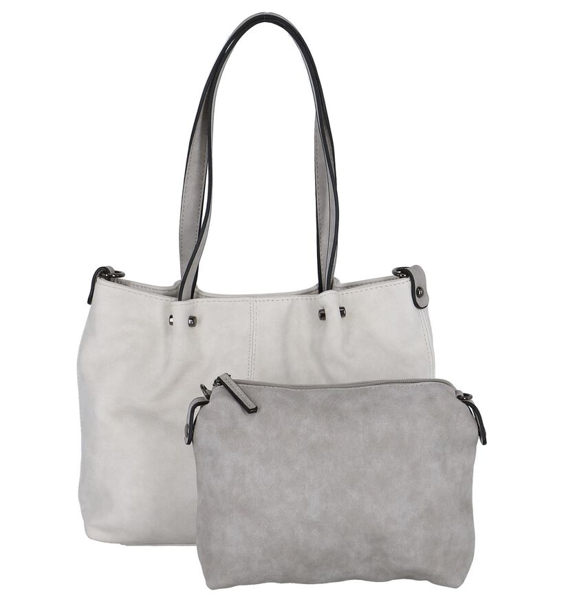 Emily & Noah Bag in Bag Ecru Schoudertas in kunstleer (276012)