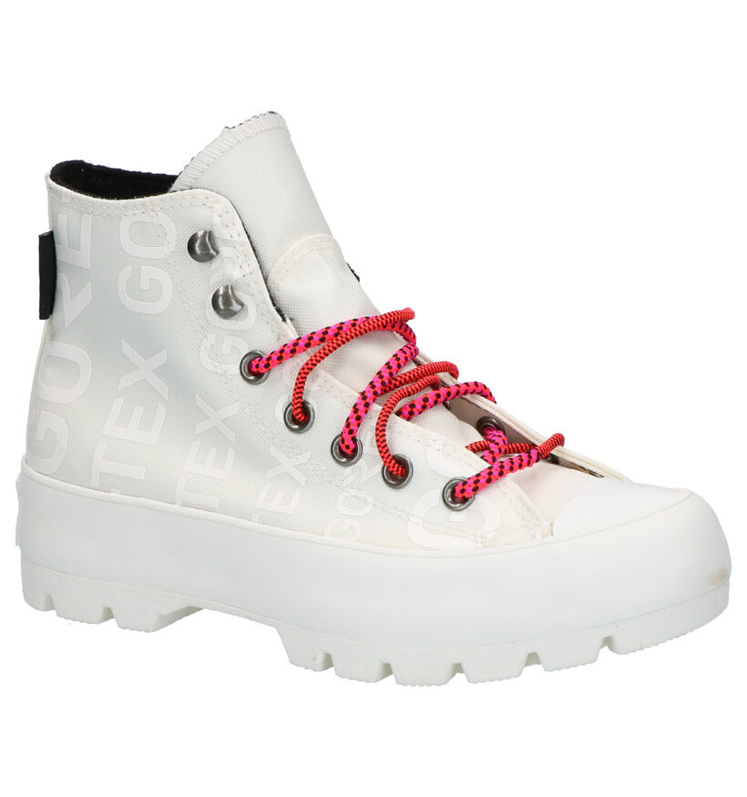Converse Chuck Taylor AS Lugged Winter Ecru Sneakers in stof (262410)