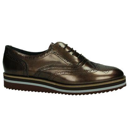 Scapa Chaussures à lacets en Bronze en cuir (183234)