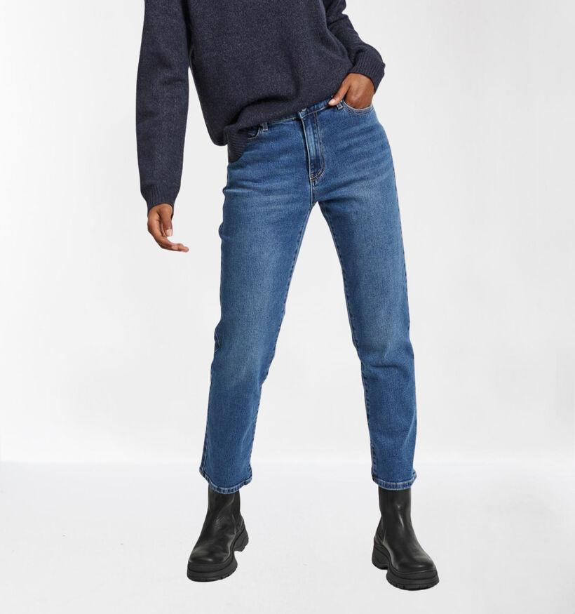 Vila Jeans en Bleu Cropped Straight Fit (278165)