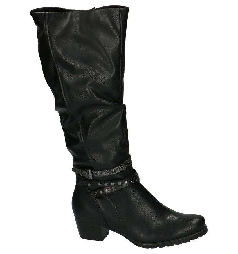 Lange Laarzen Zwart Marco Tozzi in kunstleer (202743)