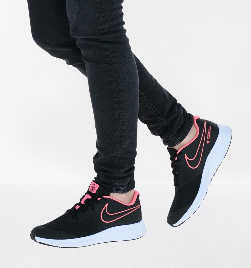 Nike Star Runner Zwarte Sneakers in stof (288233)