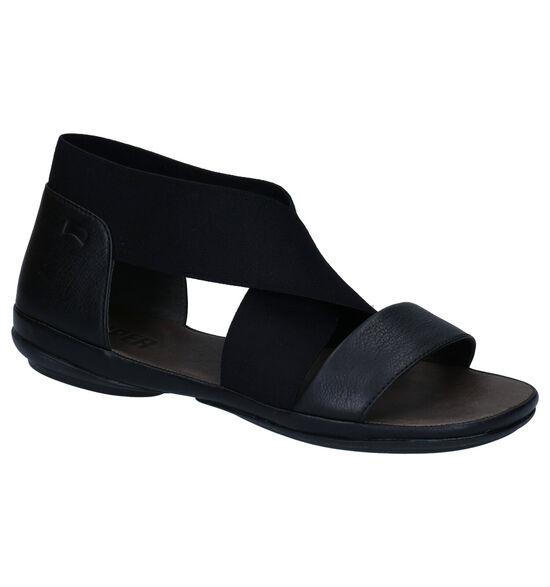 Camper Zwarte Sandalen