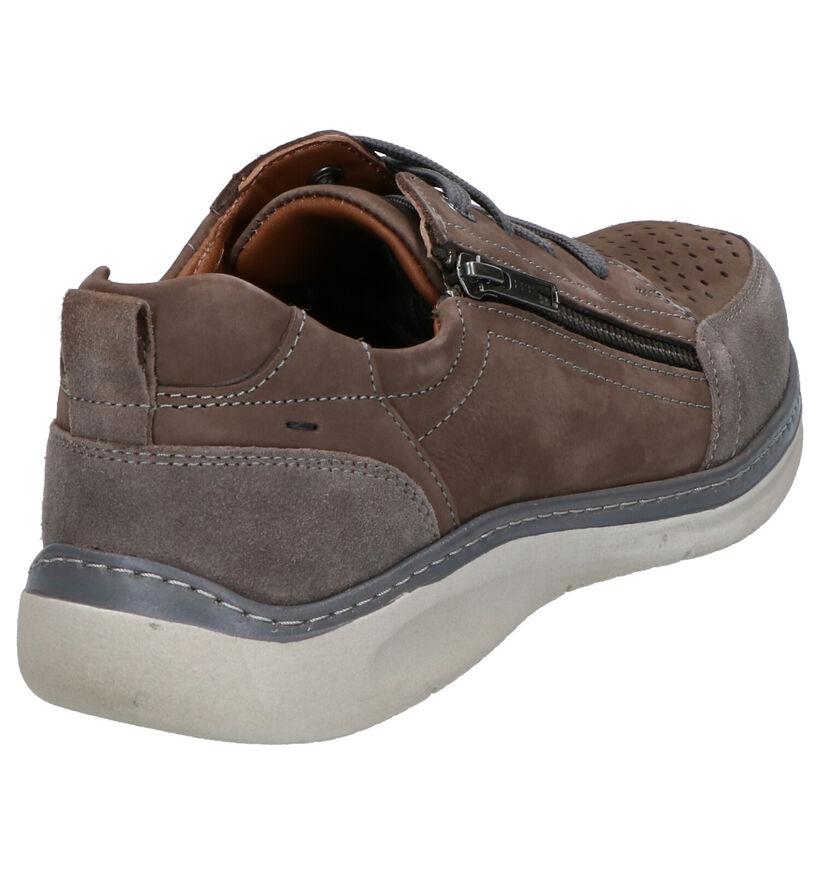 Ara Pedro Chaussures en Taupe en nubuck (274876)