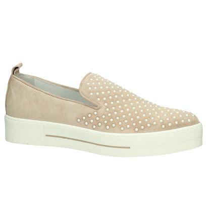 Louisa Chaussures slip-on en Rose clair en cuir (196449)