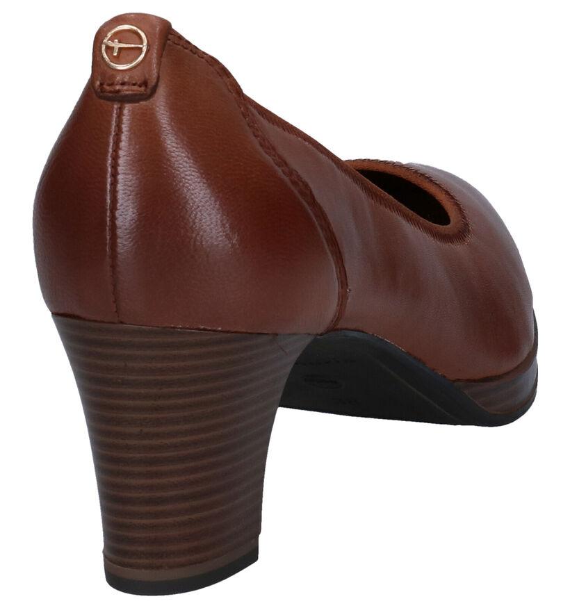 Tamaris Touch It Escarpins en Cognac en cuir (280731)