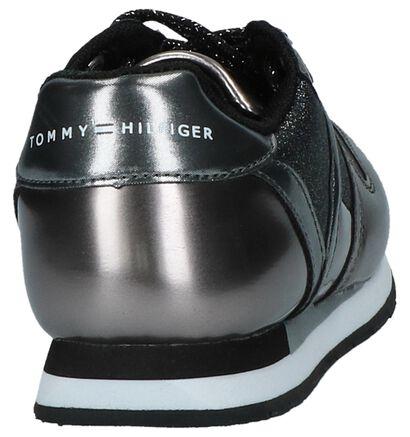 Tommy Hilfiger Baskets basses en Argent en simili cuir (225252)