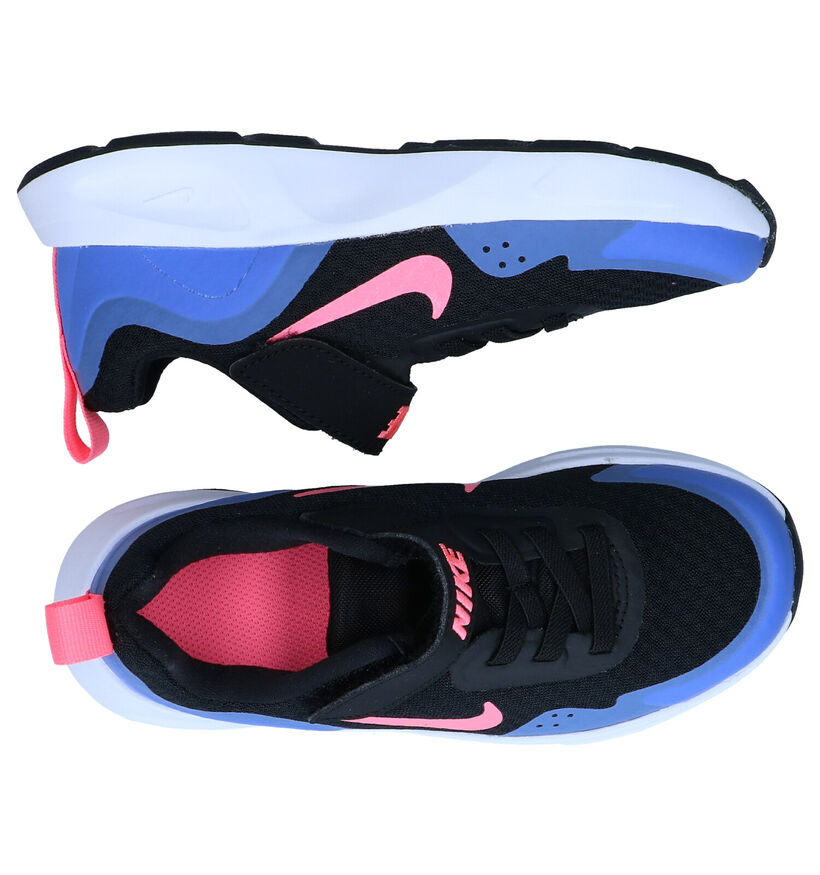 Nike Wear Allday PS Baskets en Noir en textile (284457)