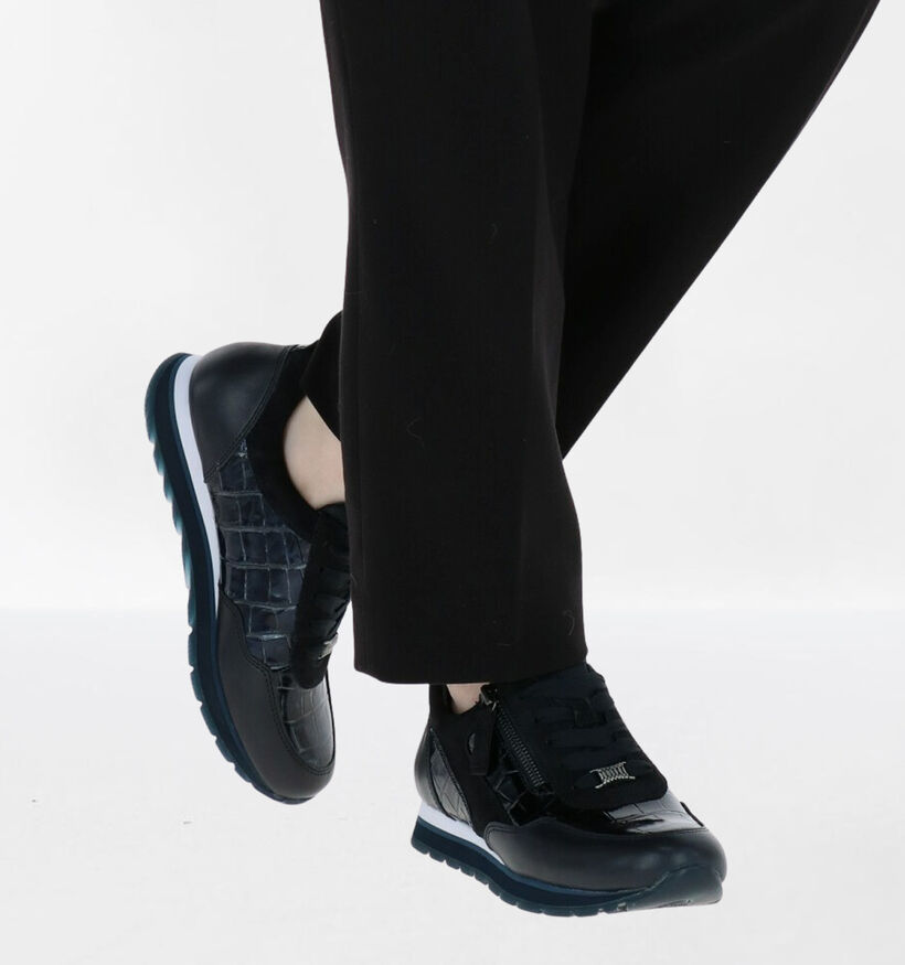 Gabor OptiFit Chaussures basses en Bleu en cuir (282286)