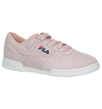 Fila Orginal Fitness Baskets basses en Rose clair en textile (226995)