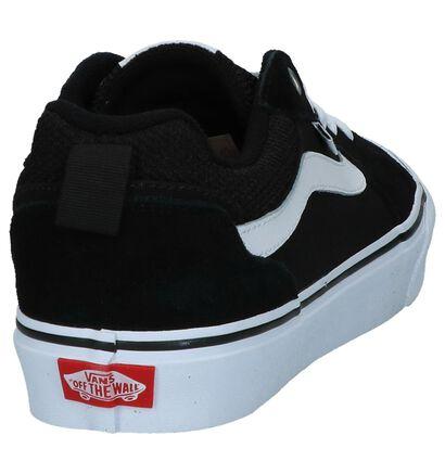 Zwarte Skateschoenen Vans Filmore in daim (253479)