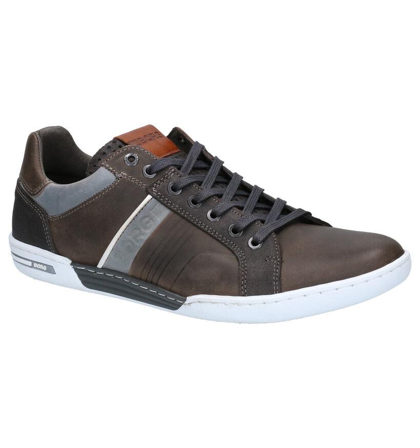 Björn Borg Coltrane Chaussures à lacets en Marron en simili cuir (266970)