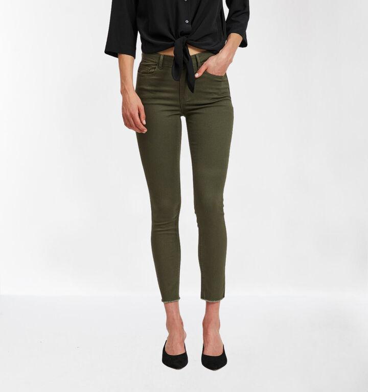 Vila Kaki Skinny Fit Jeans